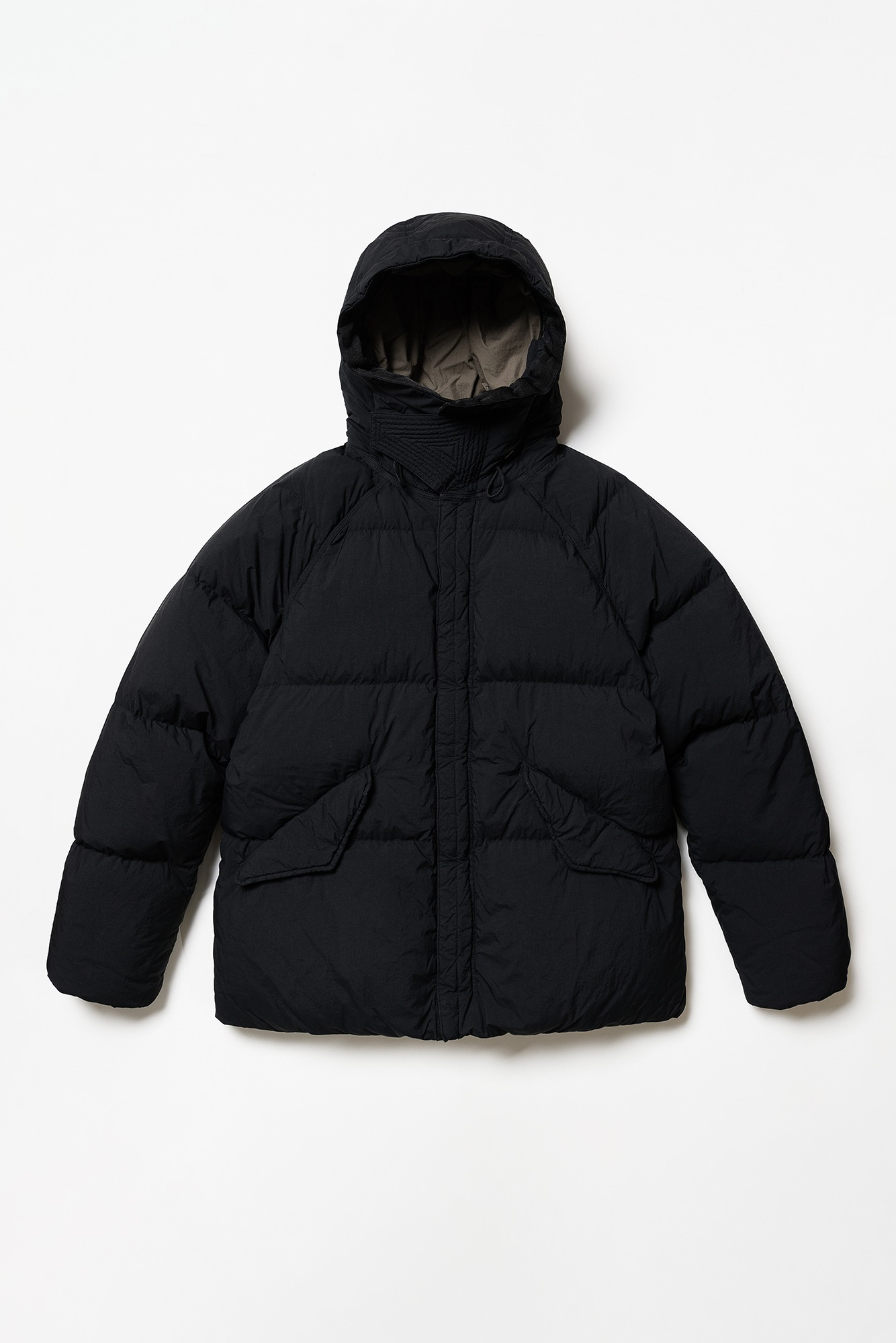 "TEN-C Artic Down Parka ""Black"""