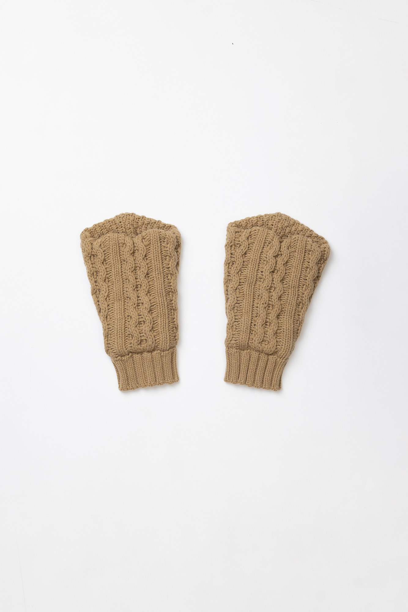 "CORELATE Wool sleeves ""Beige"""