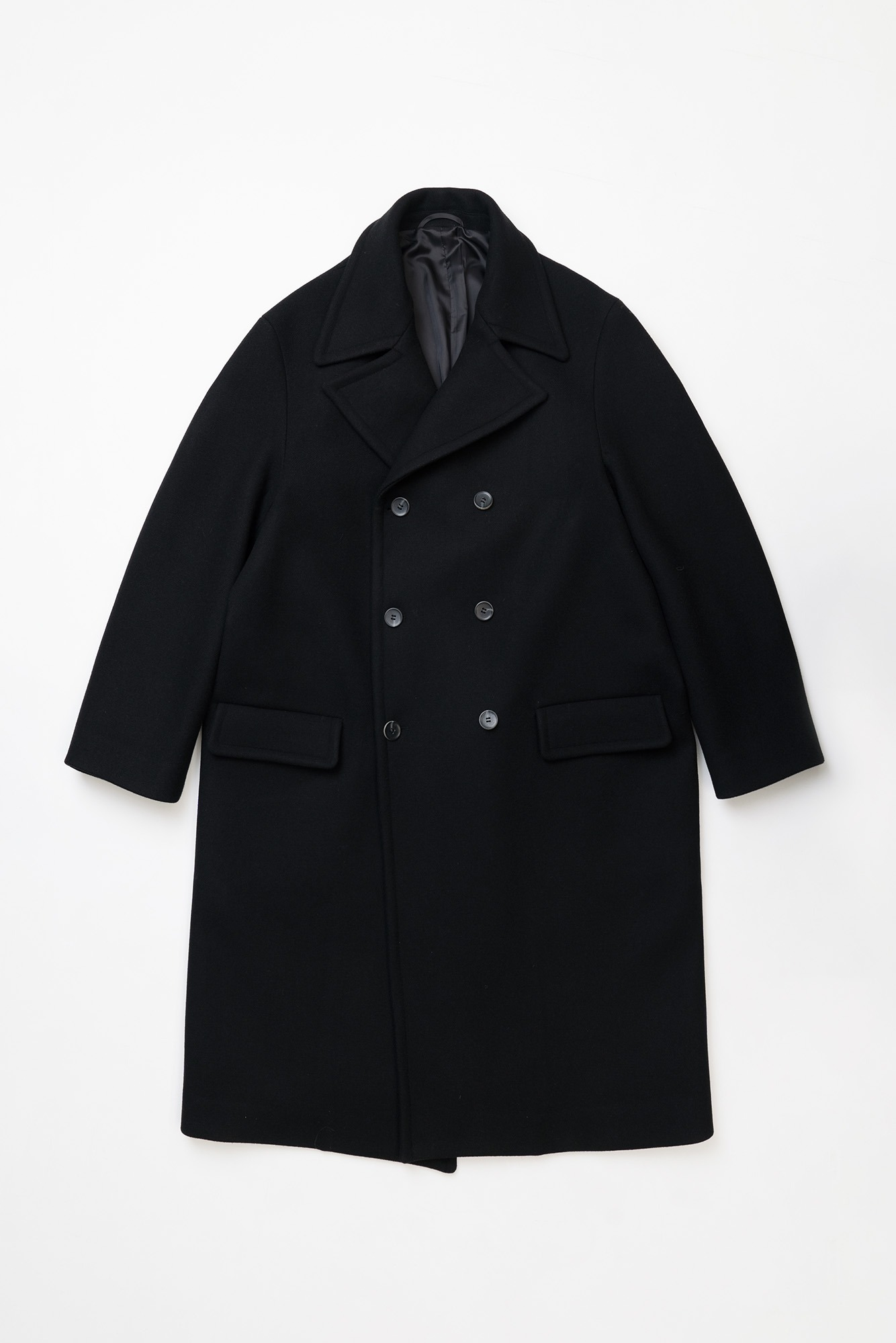 "OOPARTS Oversize Silhouette Quards Coat ""Black"""