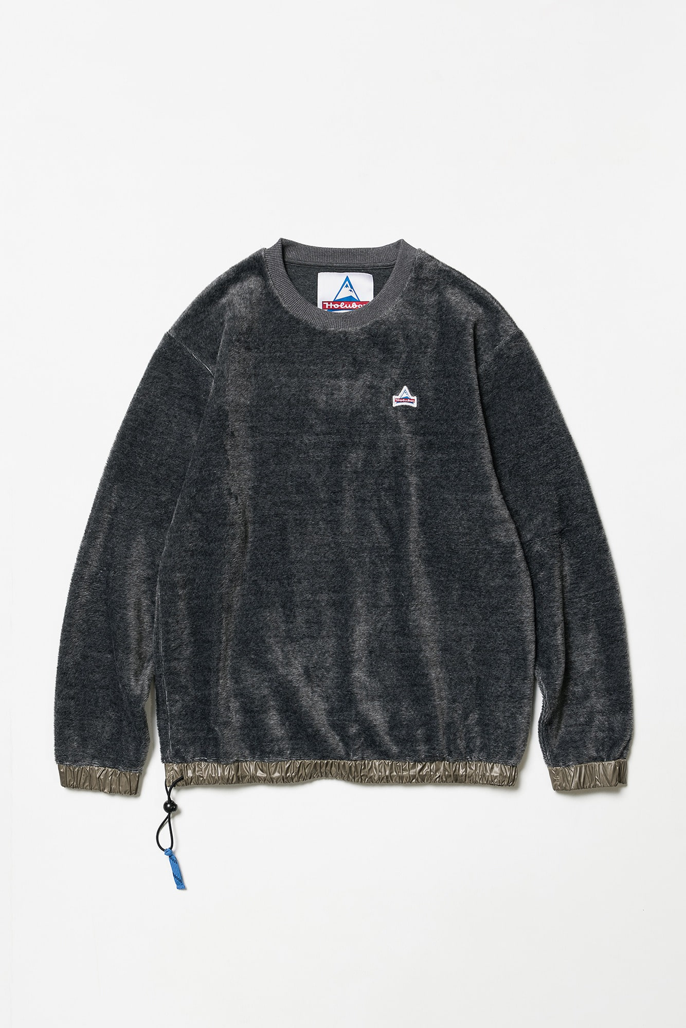 "HOLUBAR Atlantic Sweatshirt Crew Neck ""Grey Melange"""