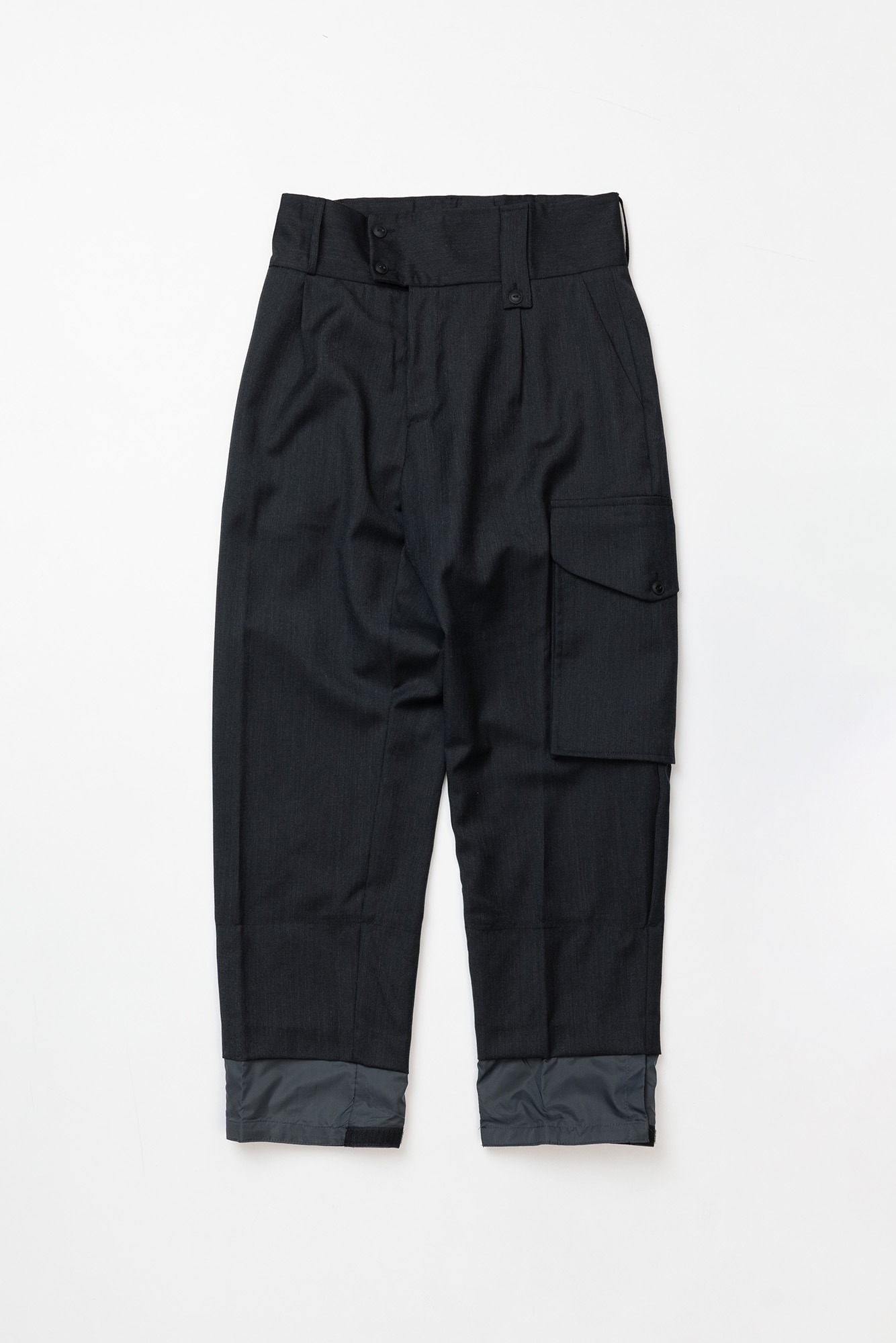 "CORELATE Nylon bottom trousers ""Antracite"""