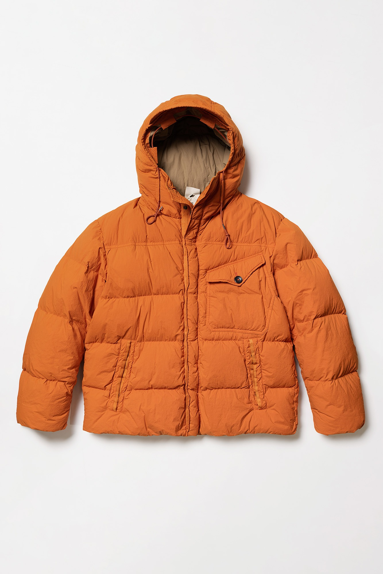 "TEN-C Survival Down Jacket ""Clementine"""