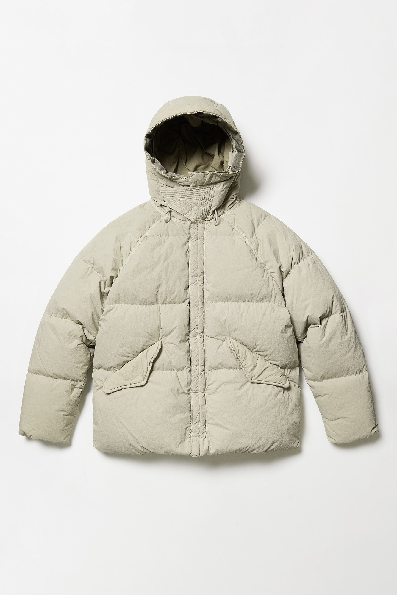 "TEN-C Artic Down Parka ""Gauze White"""