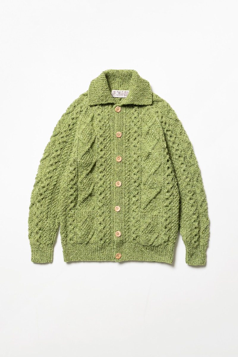 "ATHENA DESIGNS 2S Collar Cardigan ""Greencastle"""