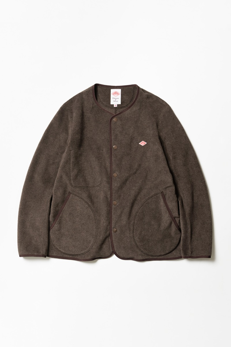 "DANTON Fleece Jacket ""H.Brown"""