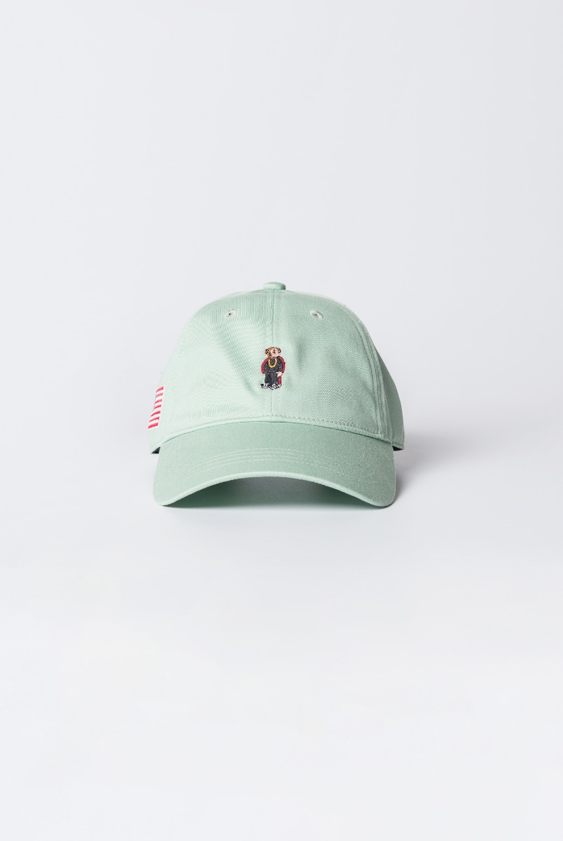 "INFIELDER DESIGN Rap Bear Cap ""Green"""