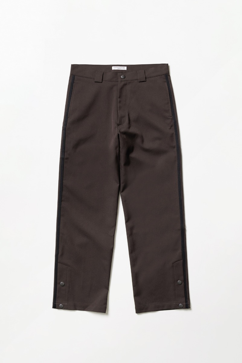 "LOCALS ONLY Side line Skater Pants ""Brown/Black"""