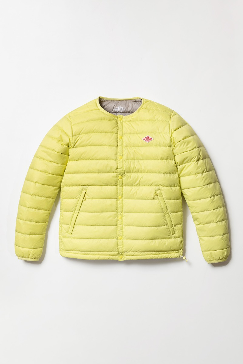 "DANTON Crewneck Jacket Inner Down ""Lime"""