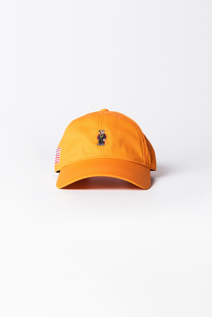 "INFIELDER DESIGN Rap Bear Cap ""Orange"""