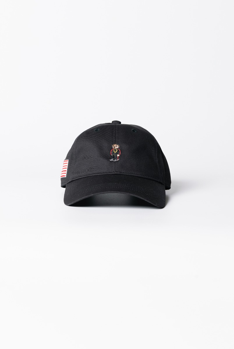 "INFIELDER DESIGN Rap Bear Cap ""Black"""