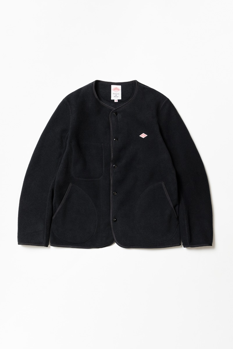 "DANTON Fleece Jacket ""Black"""
