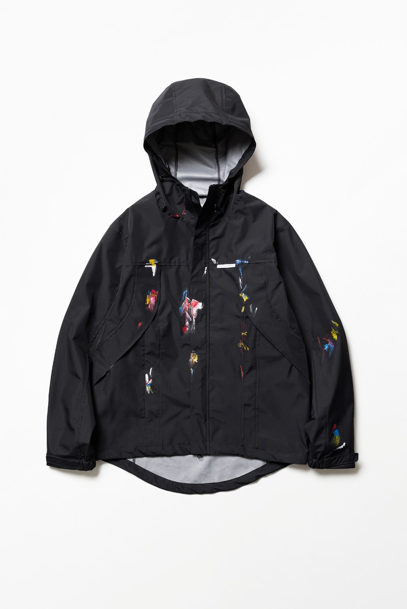 "THE MUSEUM VISITOR Gallery Windbreaker ""Black"""