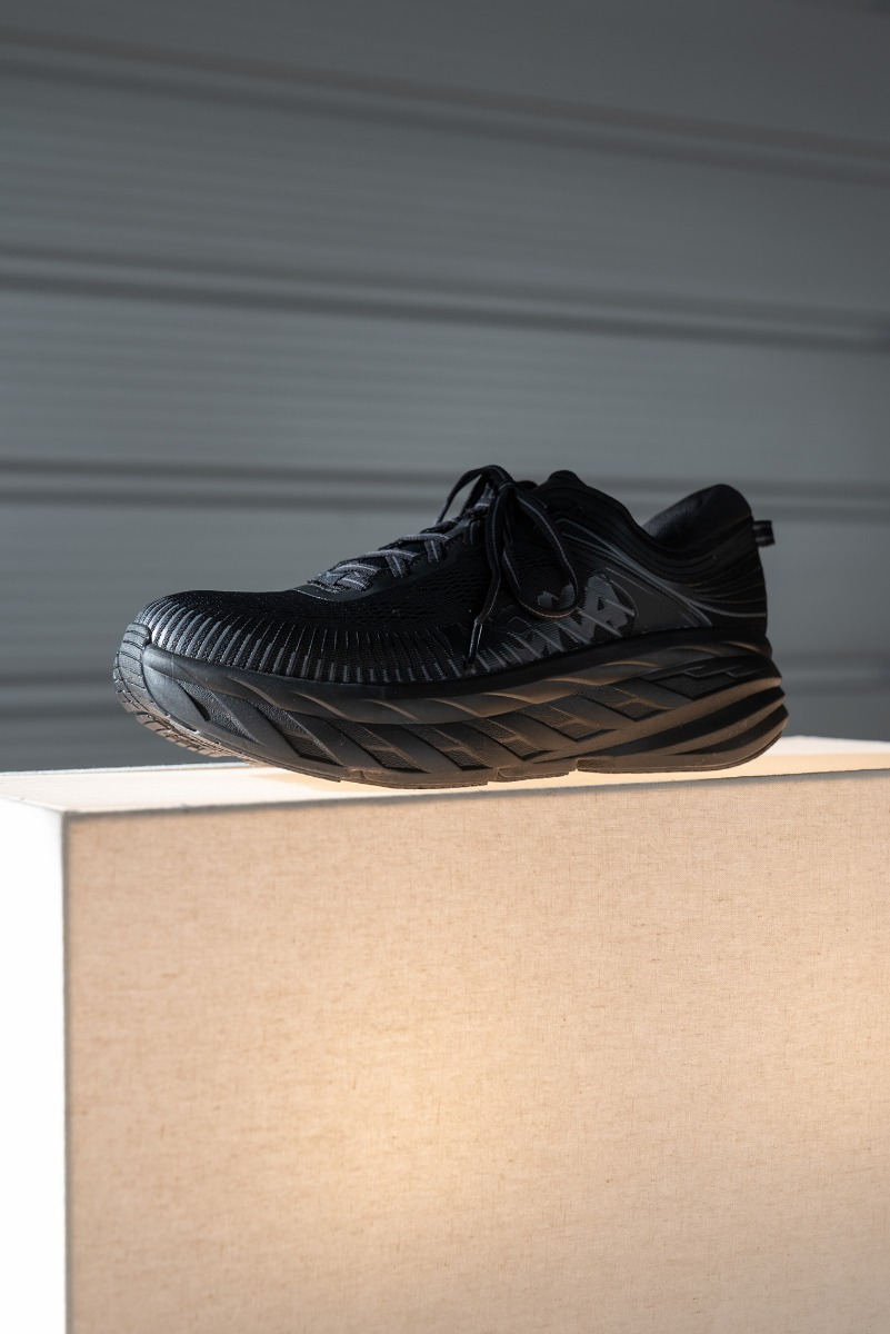 "HOKA ONE ONE Bondi 7 Wide ""Black"""