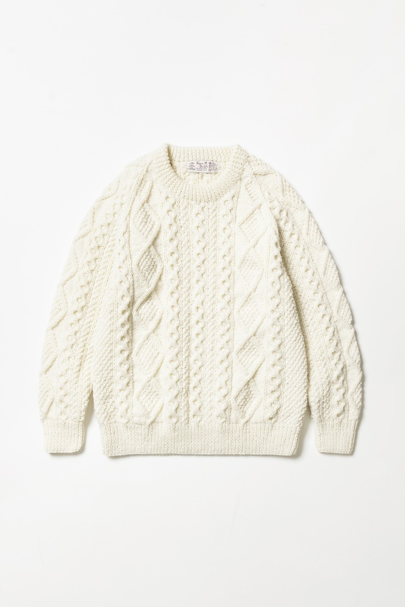 "ATHENA DESIGNS 2S Crew Sweater ""White"""