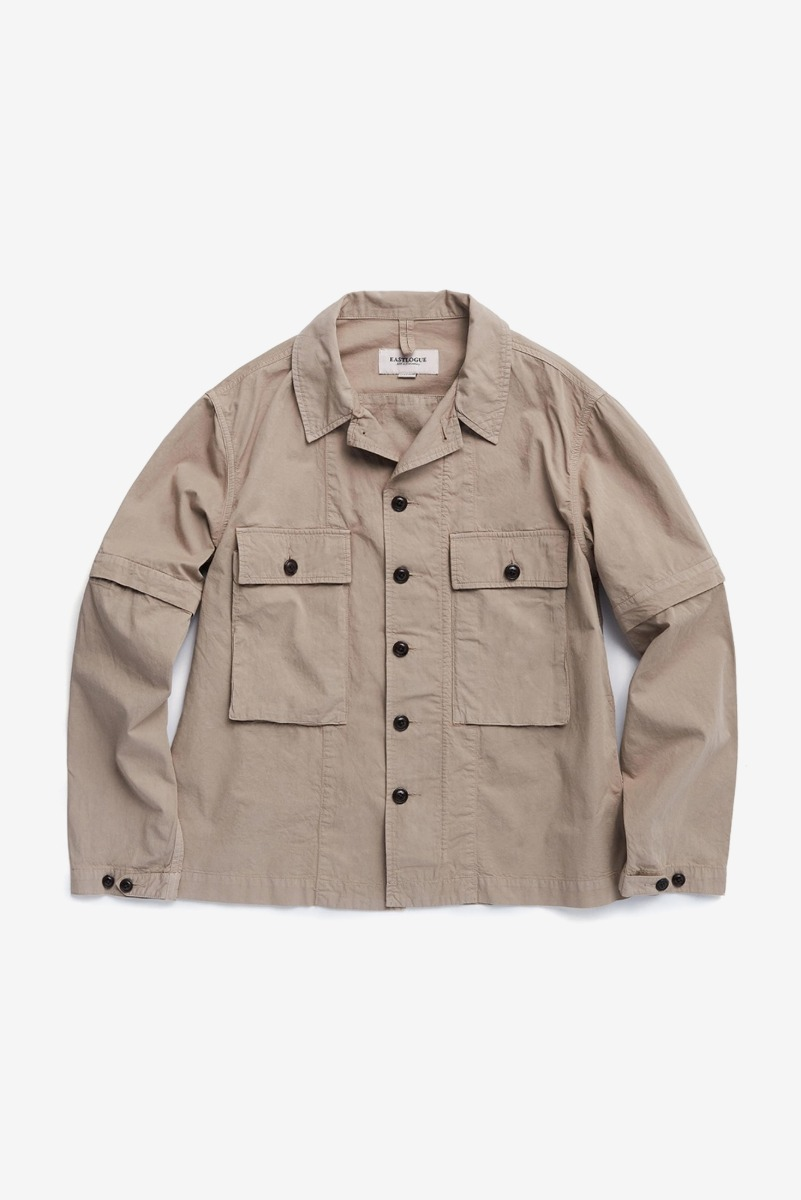"EASTLOGUE KW M43 Jacket ""Dyed Beige"""