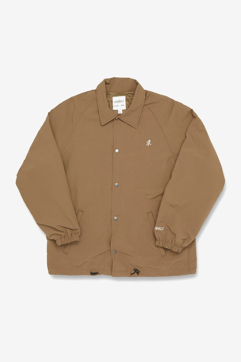 "GRAMICCI Shell Coaches Jacket ""Tan"""