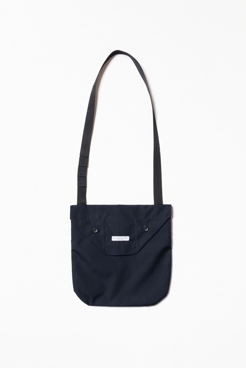 "ENGINEERED GARMENTS Shoulder Pouch ""Dark Navy PC Poplin"""