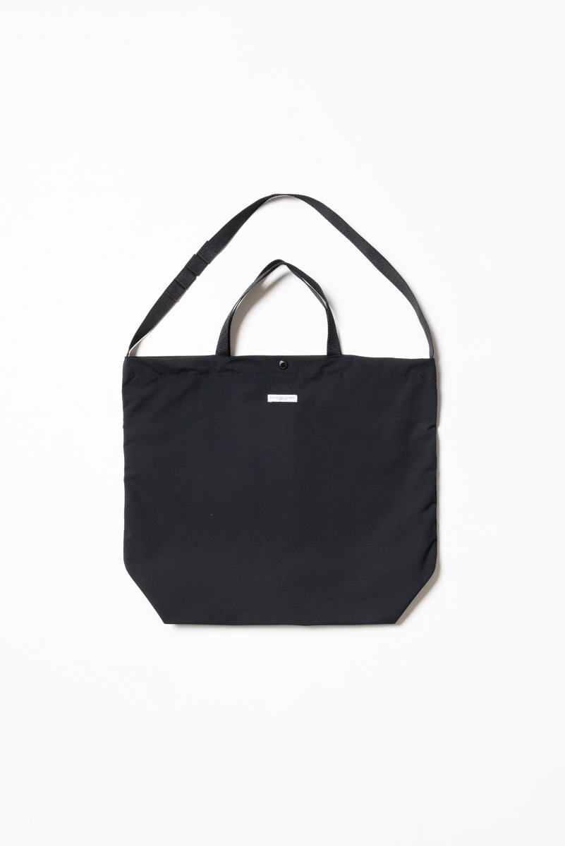 "ENGINEERED GARMENTS Carry All Tote ""Black Tech Ripstop"""