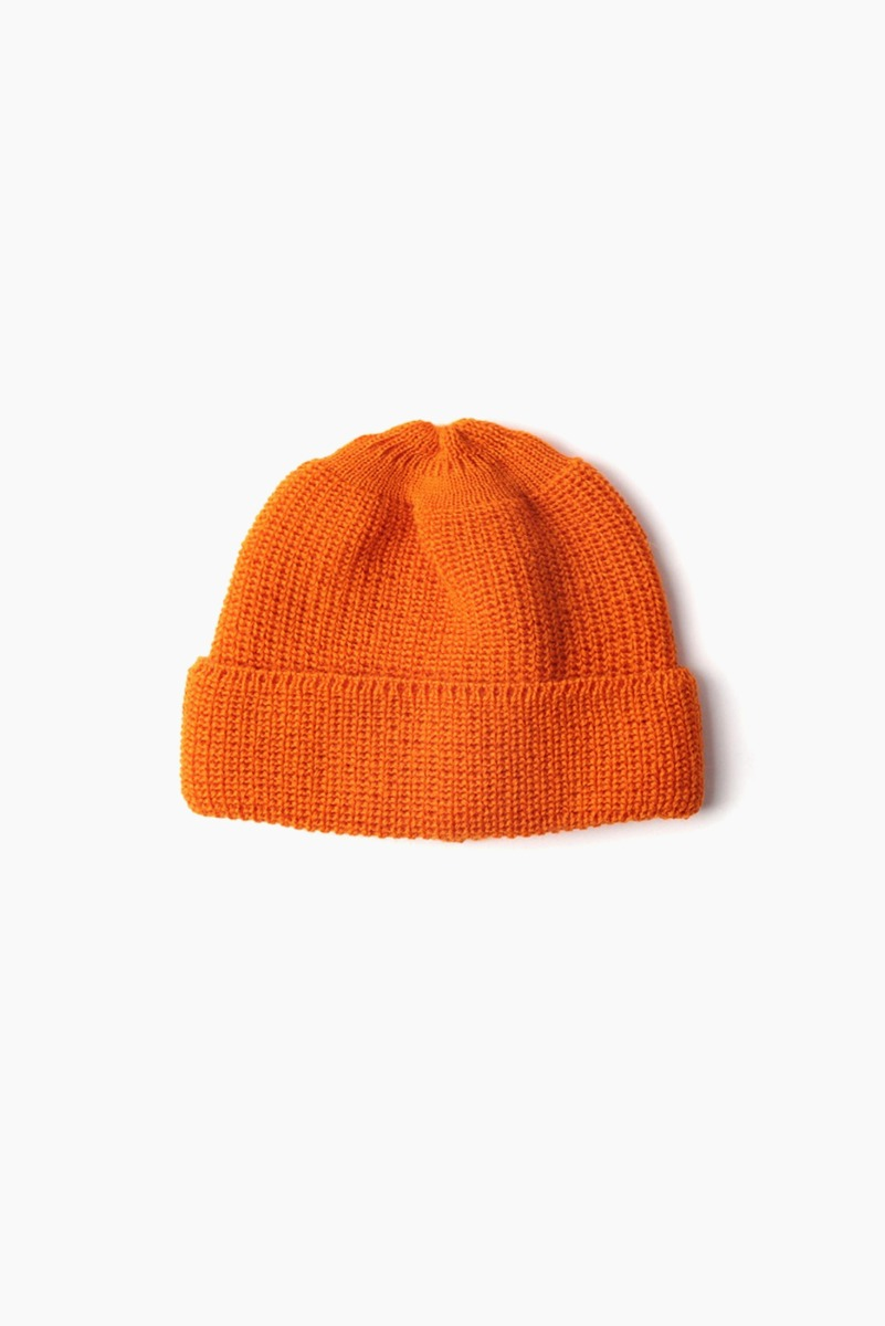 "LEUCHTFEUER STRICKWAREN Walfanger Wool ""Orange"""