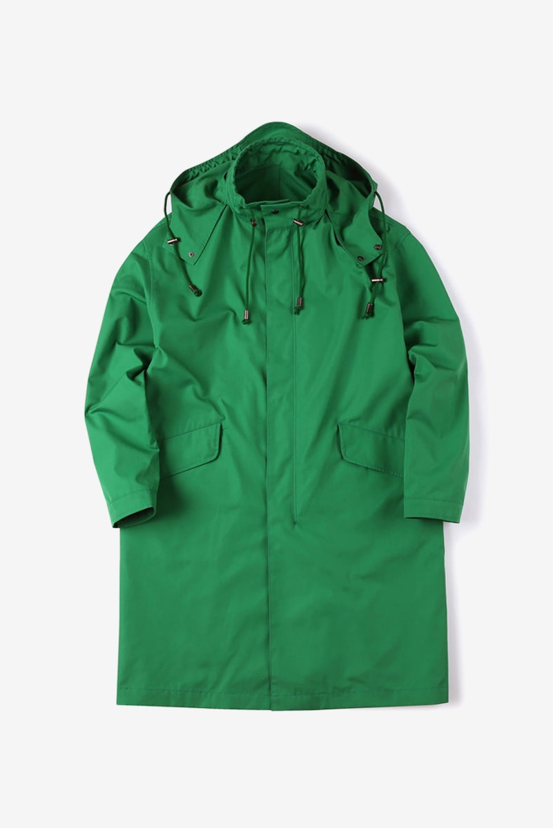 "SHIRTER Nano Weather Coat ""Green"""