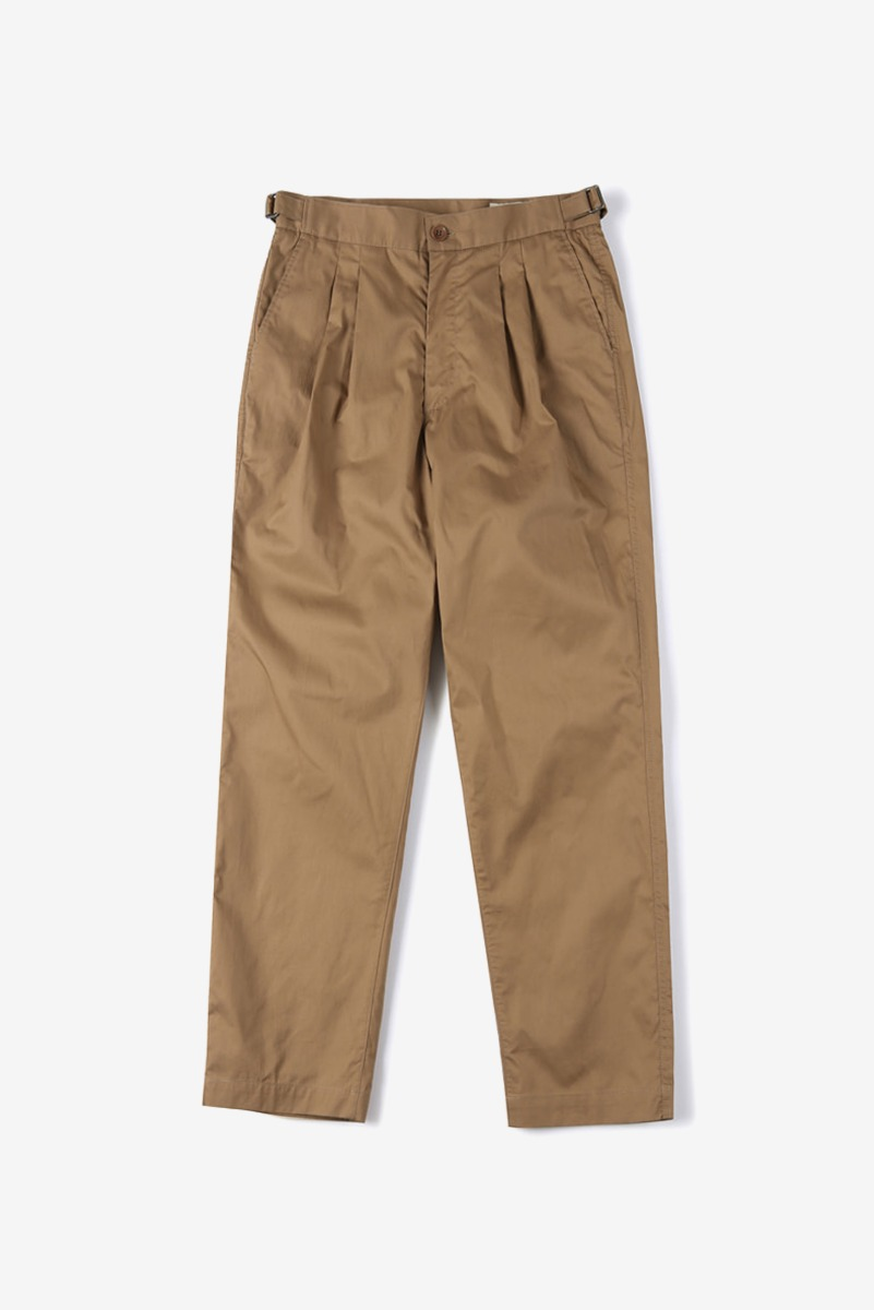 "SHIRTER Hard Washer Cotton Pants ""Beige"""