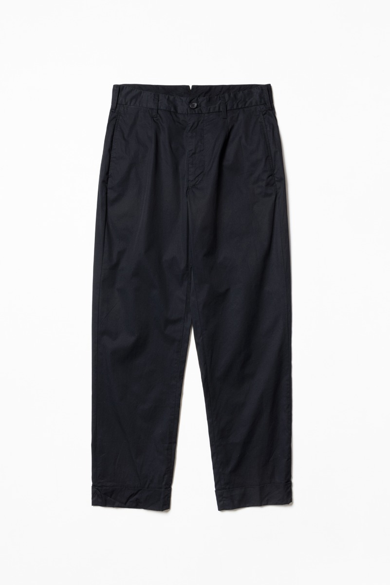 "ENGINEERED GARMENTS Andover Pant ""Black Highcount Twill"""