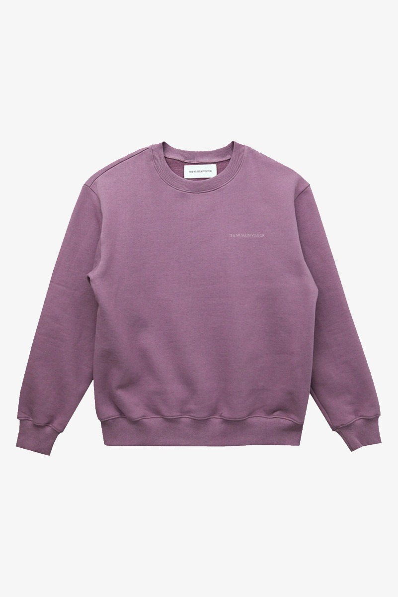 "THE MUSEUM VISITOR Modern Art Sweatshirts ""Purple"""