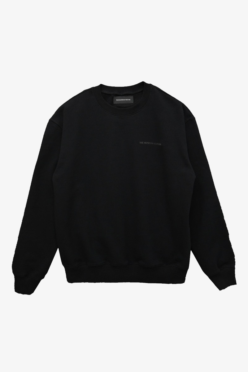"THE MUSEUM VISITOR Modern Art Sweatshirts ""Black"""