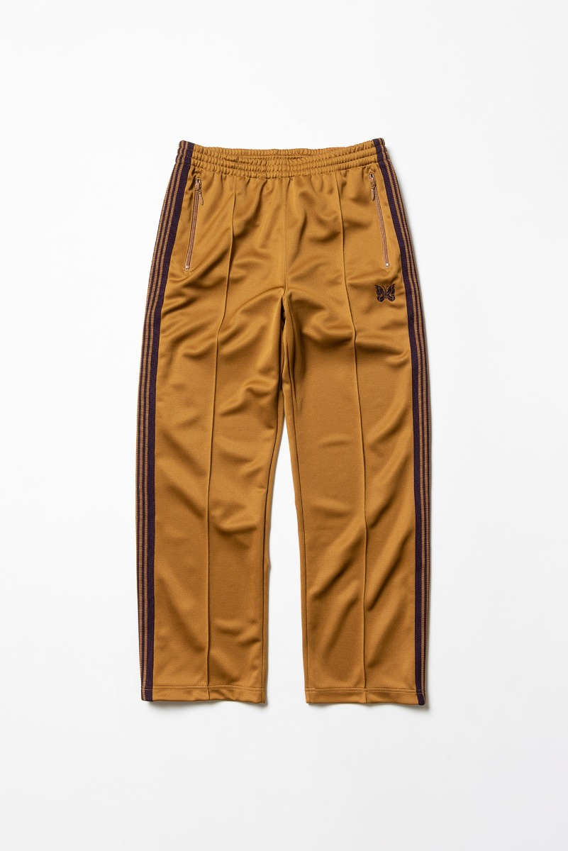"Needles Track Pant Poly Smooth ""Mustard"""