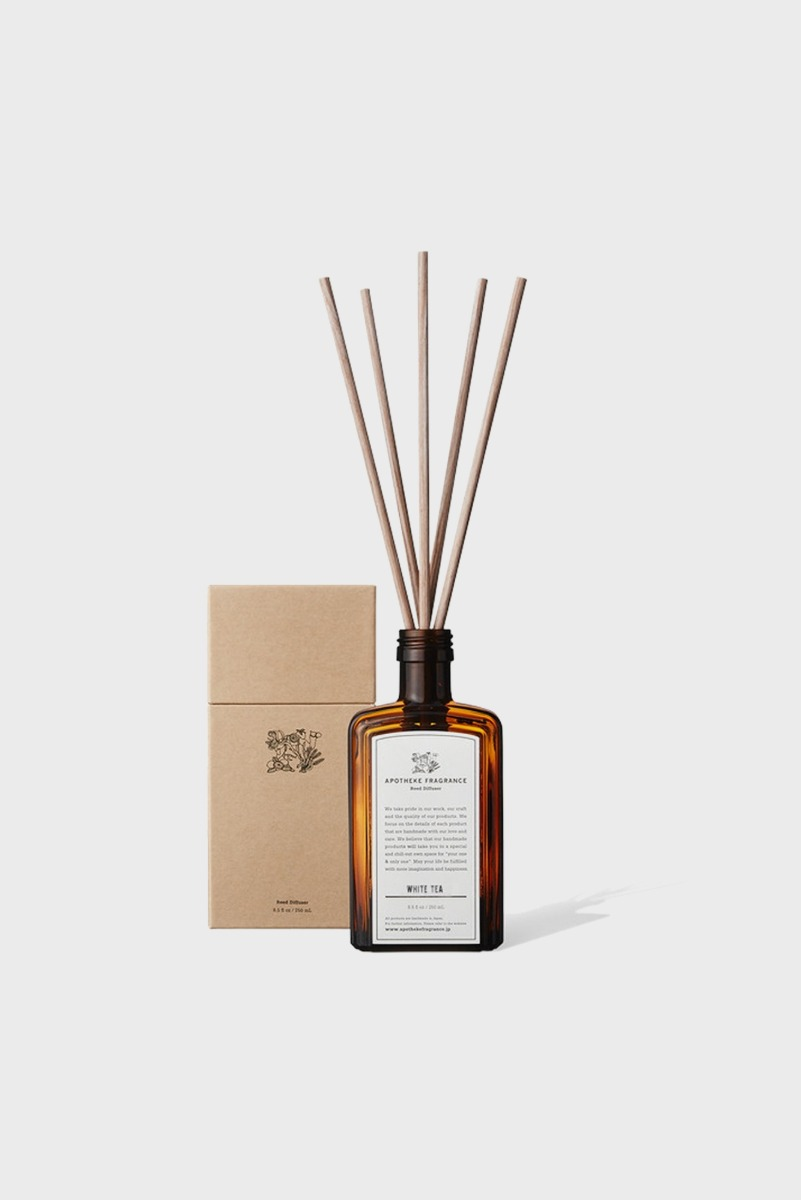 "APOTHEKE FRAGRANCE Reed Diffuser ""White Tea"""