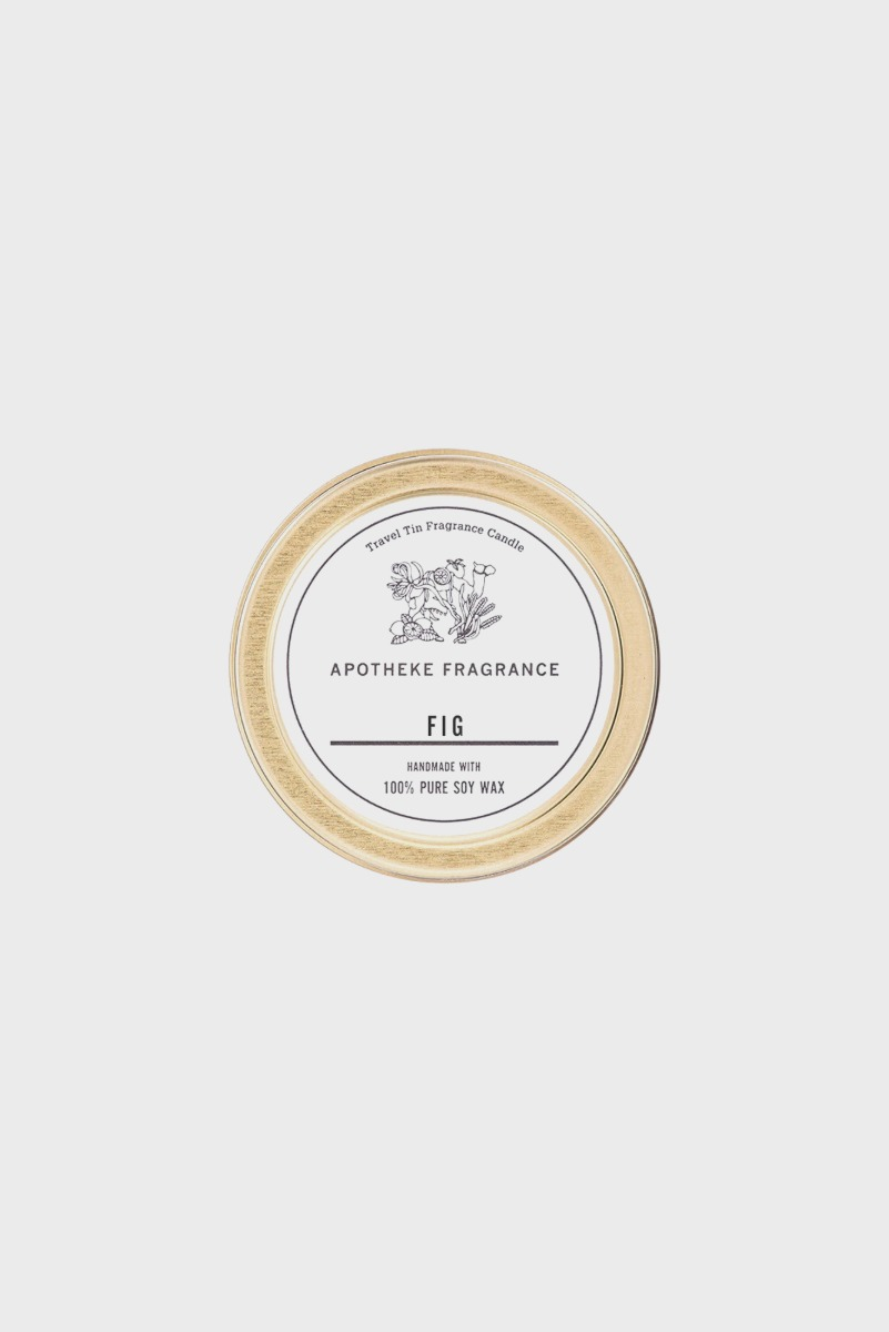 "APOTHEKE FRAGRANCE Tin Candle ""Fig"""