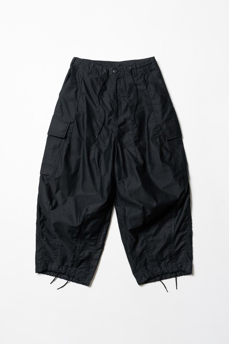 "Needles H.D. Pant BDU ""Black"""