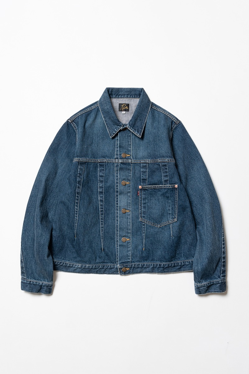 "Needles Darts Jean Jacket 12oz Denim ""Indigo"""