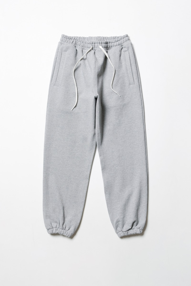 "ART IF ACTS Heavy Sweat Pants ""Melange Grey"""