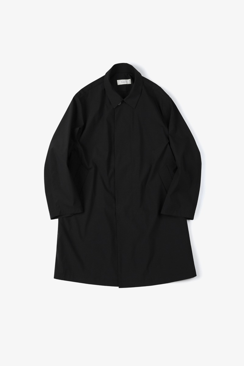 "SHIRTER Solotex Bal Collar Coat ""Black"""