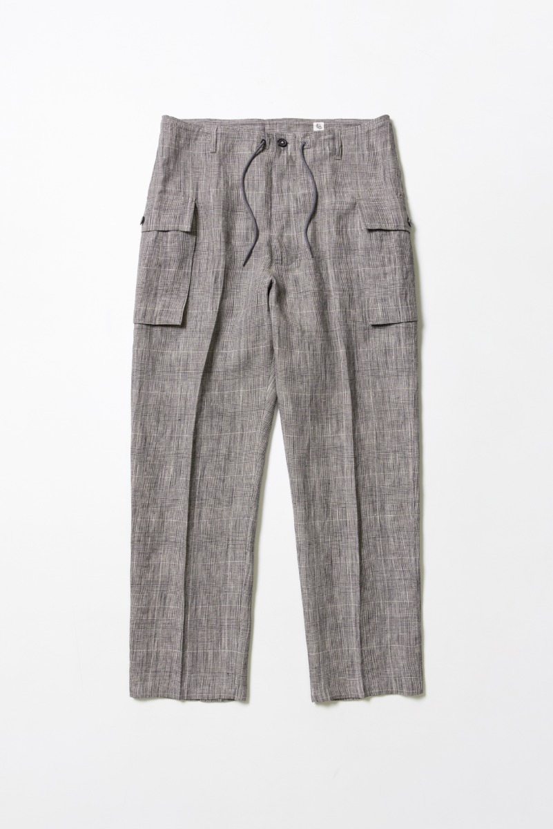 "KAPTAIN SUNSHINE M43 Cargo Pants ""Glen Check"""