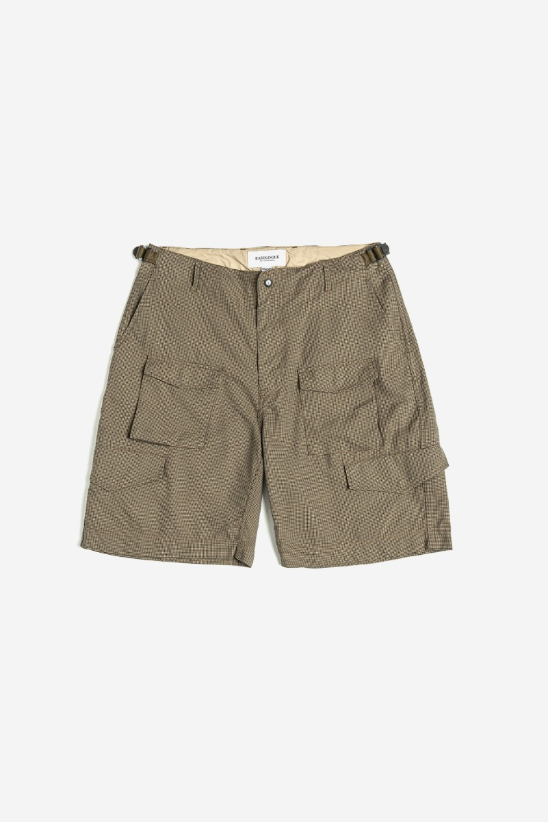 "EASTLOGUE M65 Shorts ""Beige Gunclub Check"""