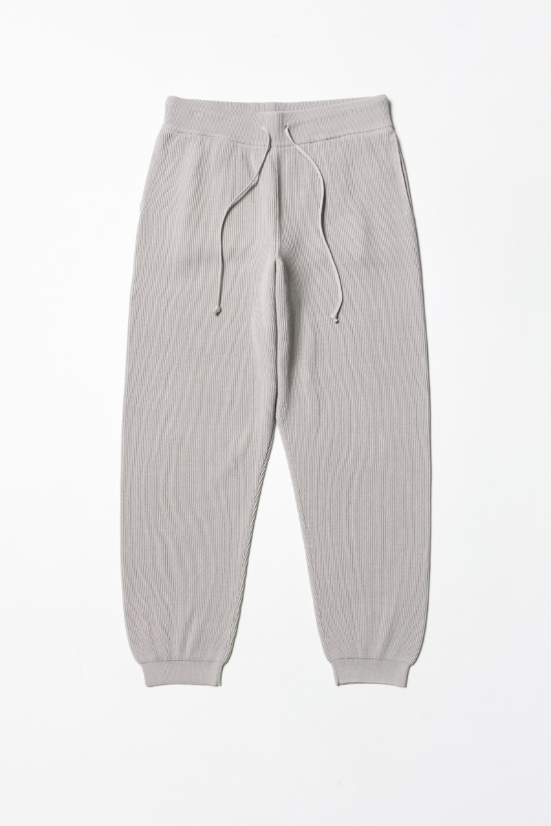 "BATONER High Count Rib Pant ""L. Grey"""