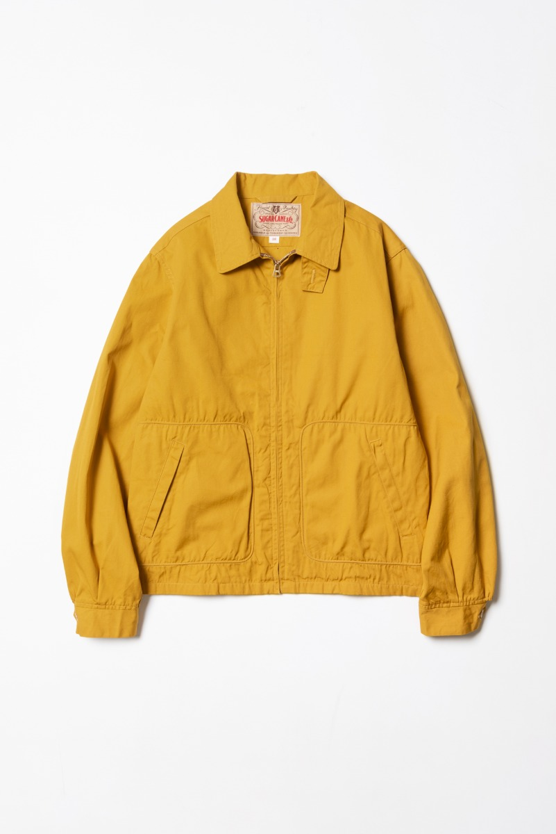 "SUGAR CANE Cotton Sport Jacket ""Mustard"""