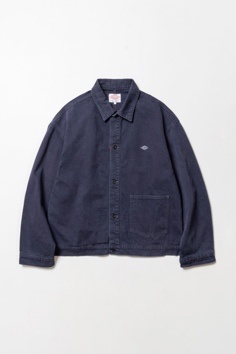 "DANTON Work Jacket ""French Blue"""