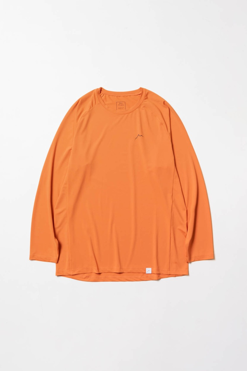 "CAYL Logo Long Sleeve ""Orange"""
