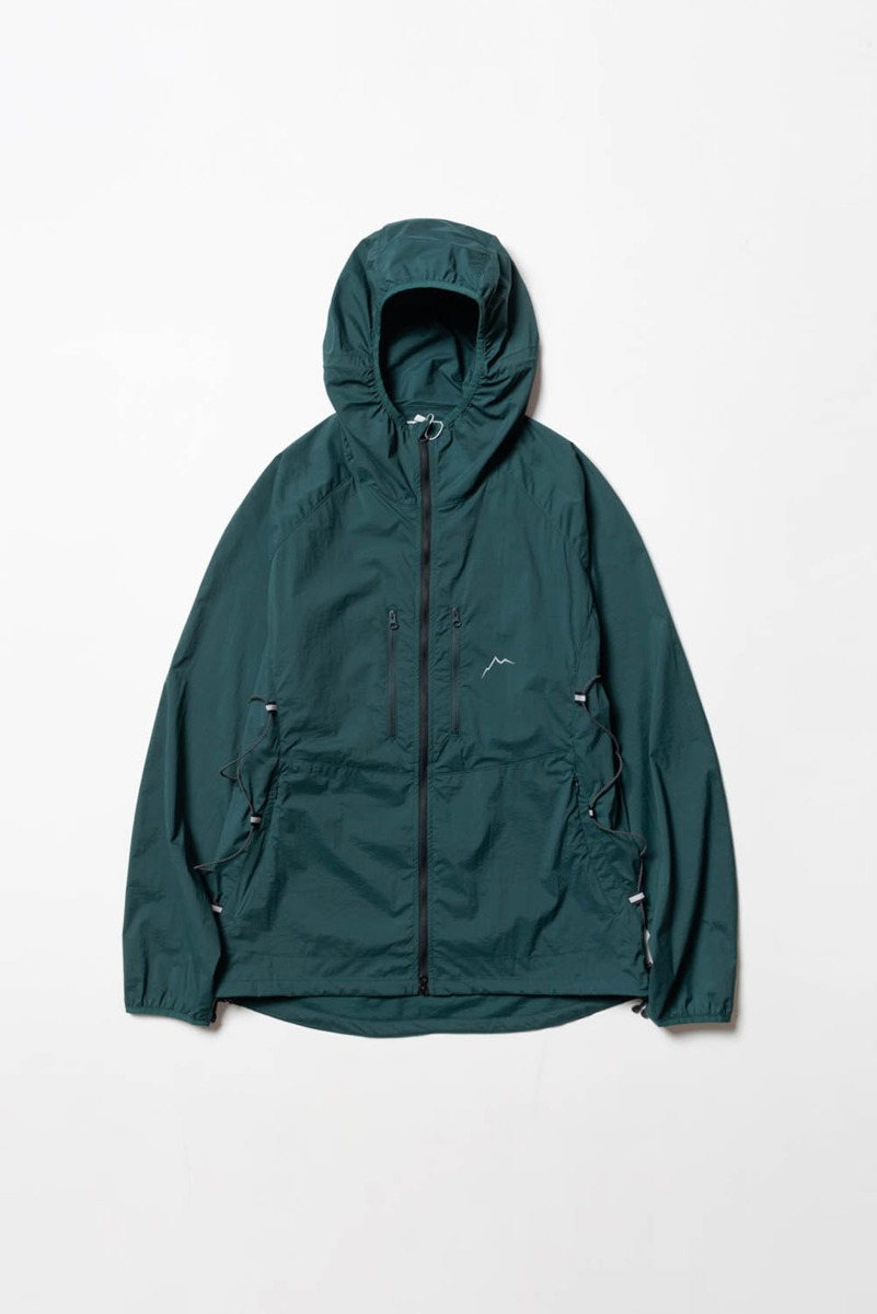 "CAYL Light Wind Jacket ""Forest Green"""