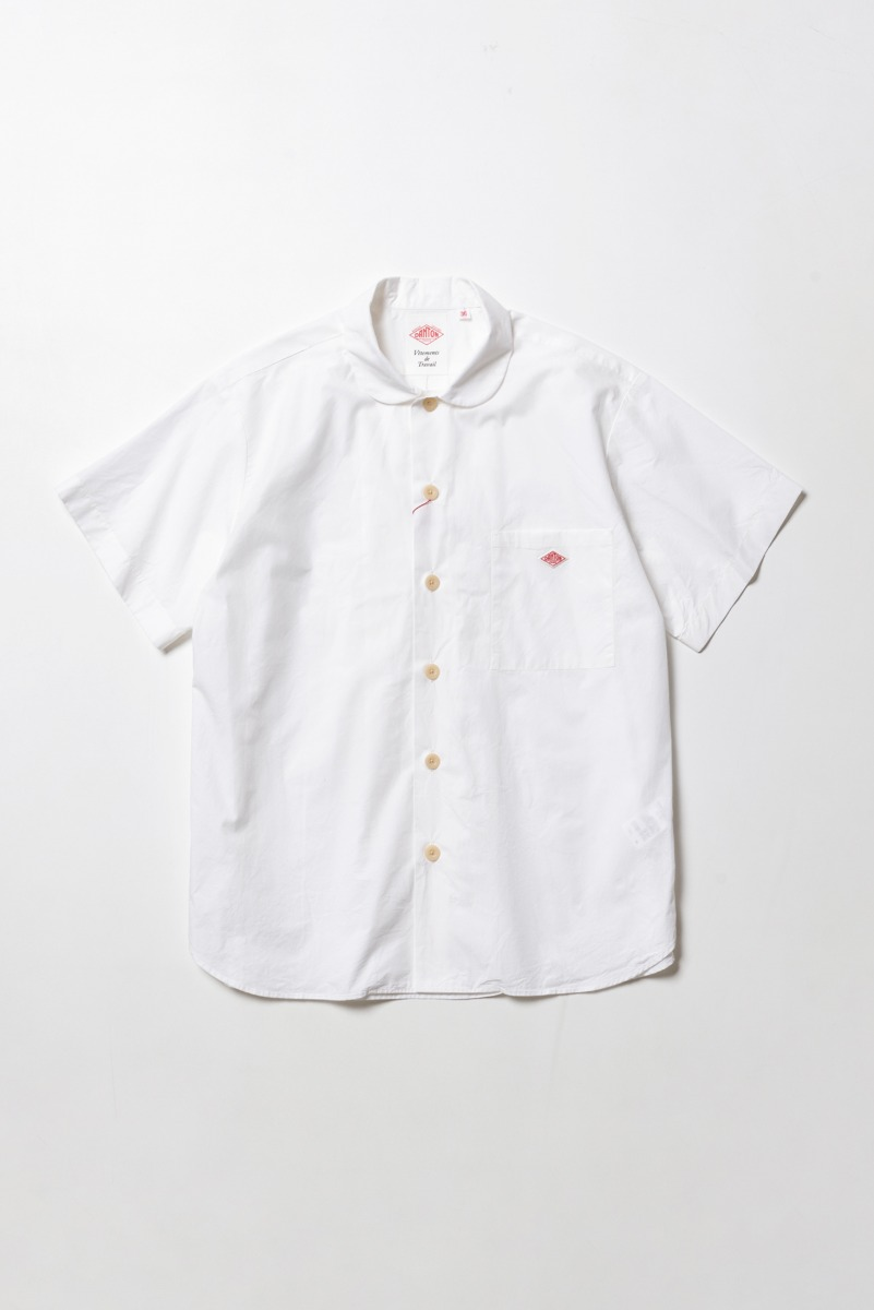 "DANTON Work Shirt S/S ""White"""