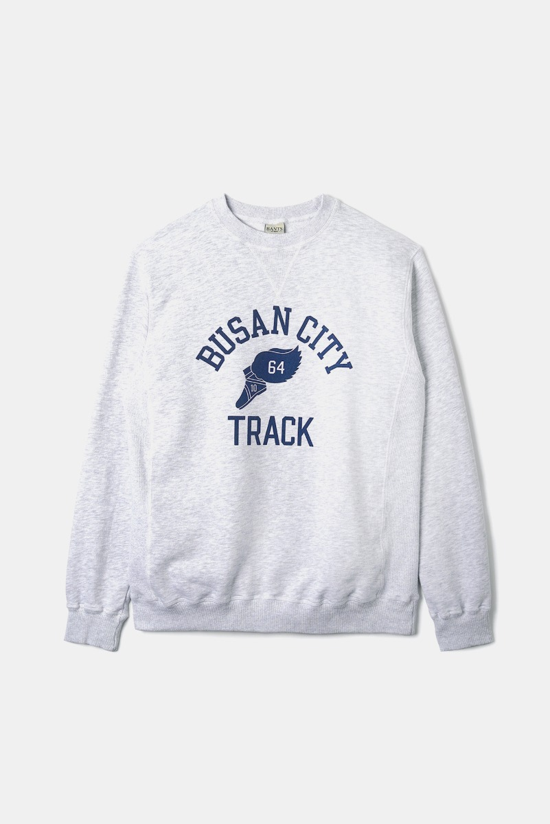"BANTS OPD Cotton Crew Sweatshirt Busan City ""Off White"""