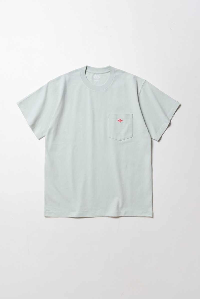 "DANTON Pocket T-Shirt S/S ""Dull Sax"""