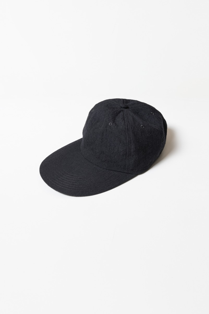 "KAPTAIN SUNSHINE Long bill 6Panel CAP ""Charcoal"""