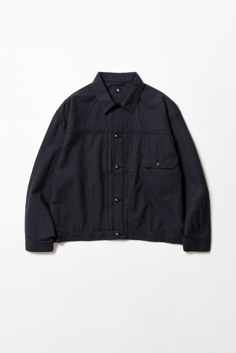 "KAPTAIN SUNSHINE Tracker Jacket ""Charcoal"""