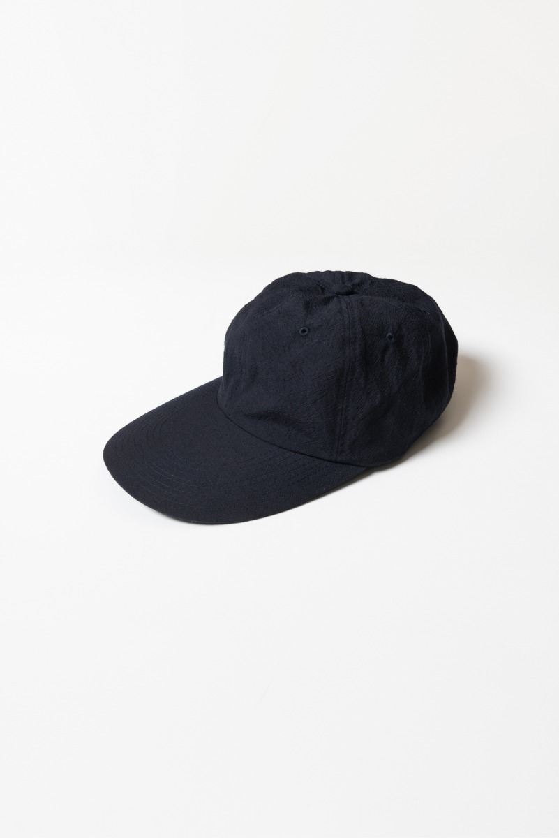 "KAPTAIN SUNSHINE Long bill 6Panel CAP ""Navy"""