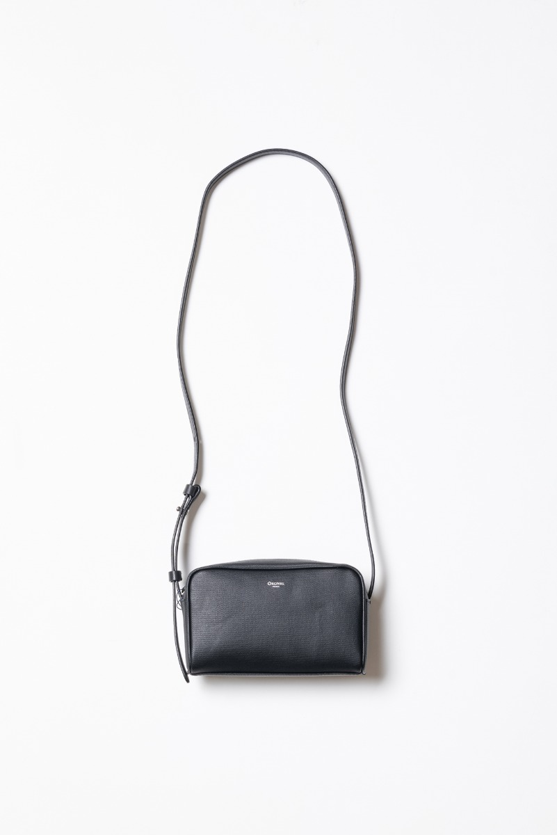 "ORCIVAL PVC Canvas Shoulder Bag ""Black"""