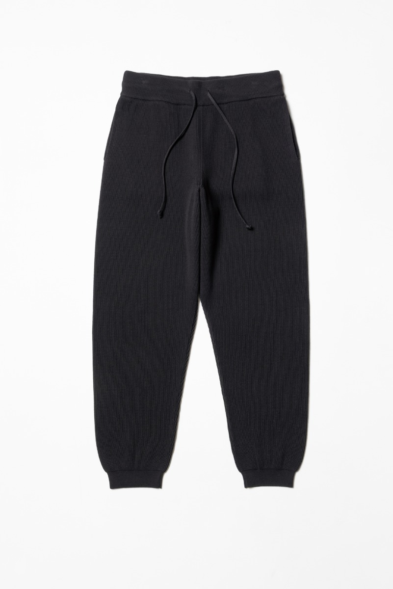 "BATONER High Count Rib Pant ""Charcoal Brown"""